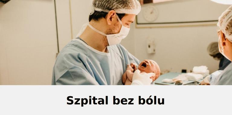 Szpital bez bólu-info